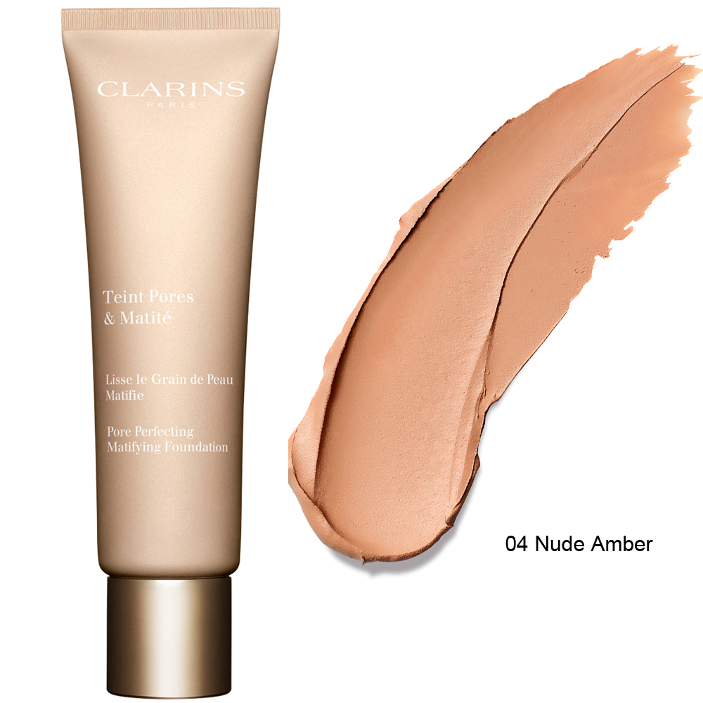 Clarins Pore Perfecting Matifying Foundation 30 ml 04 Nude Amber