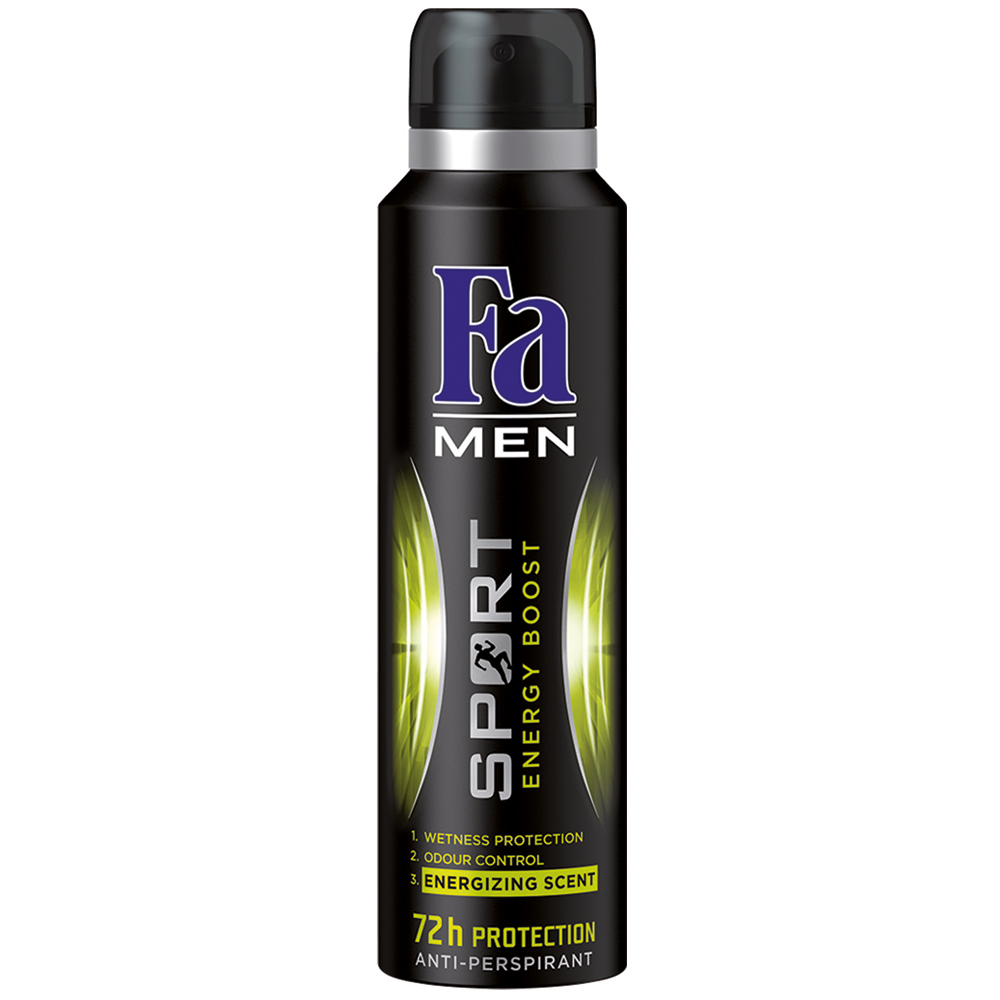 Fa Men Sport Energy Boost Sprey Erkek Deodorant 150 ml