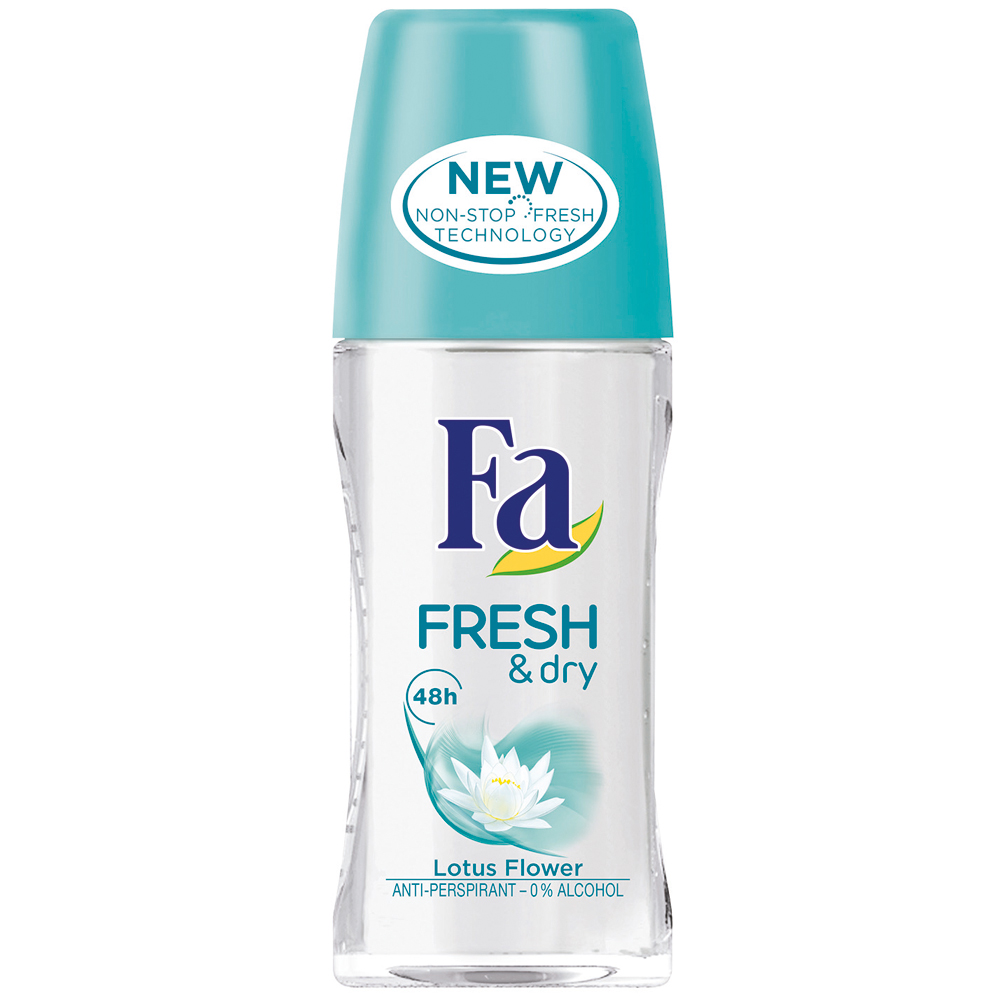 Fa Fresh & Dry Lotus Flower Roll-On  Kadın Deodorant 50 ml