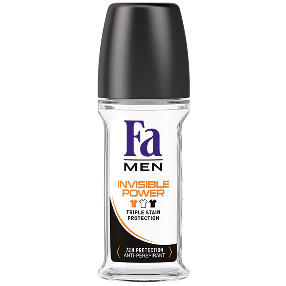 Fa Men Invisible Roll-On Erkek Deodorant 50 ml