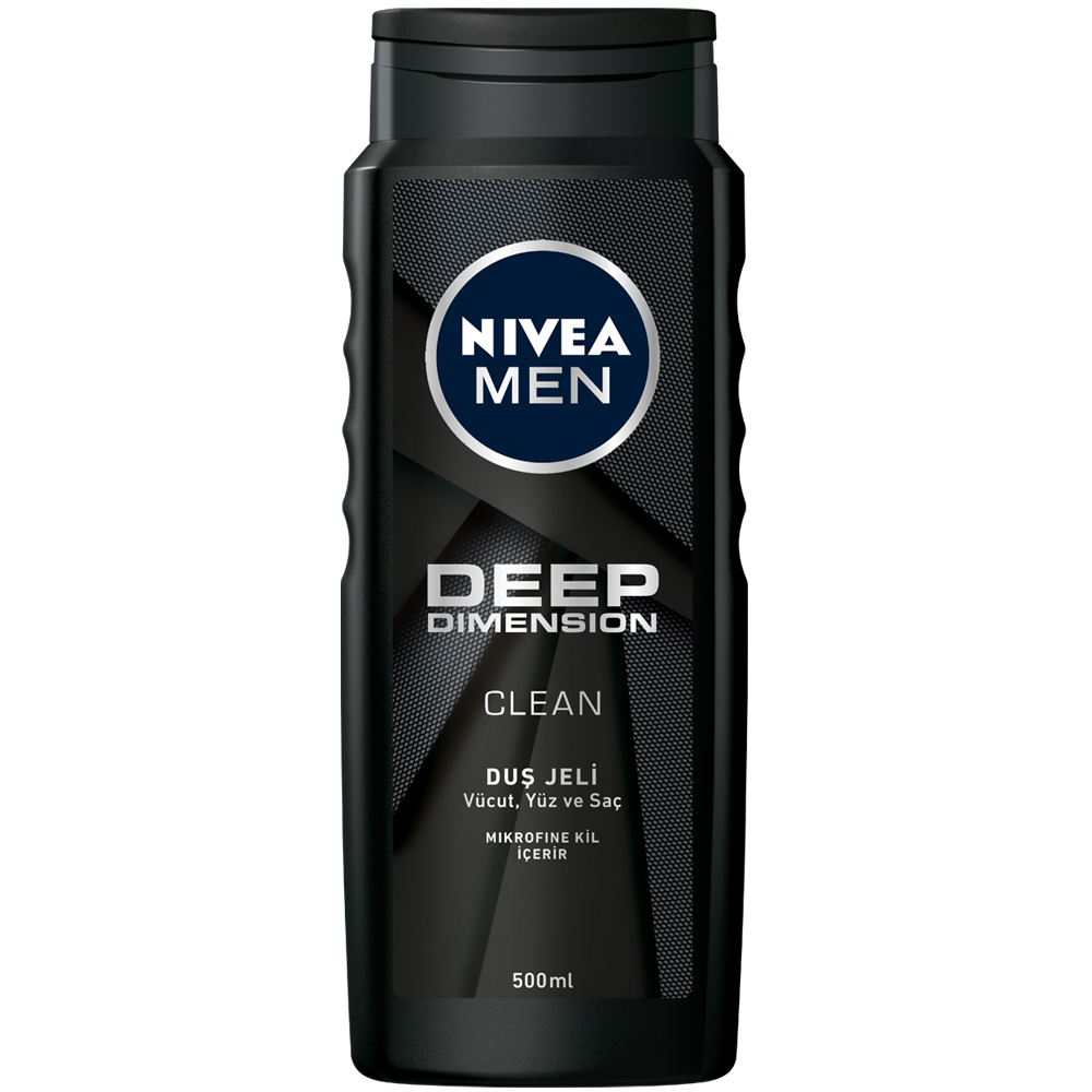 Nivea Men Deep Dimension Duş Jeli 500 ml