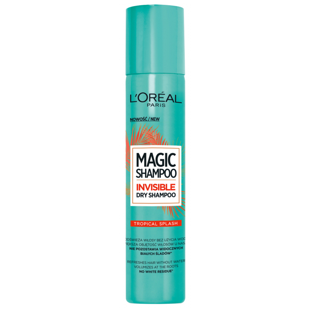 L'Oréal Magic Invisible Dry Shampoo Kuru Şampuan 200 ml Tropikal Dalga