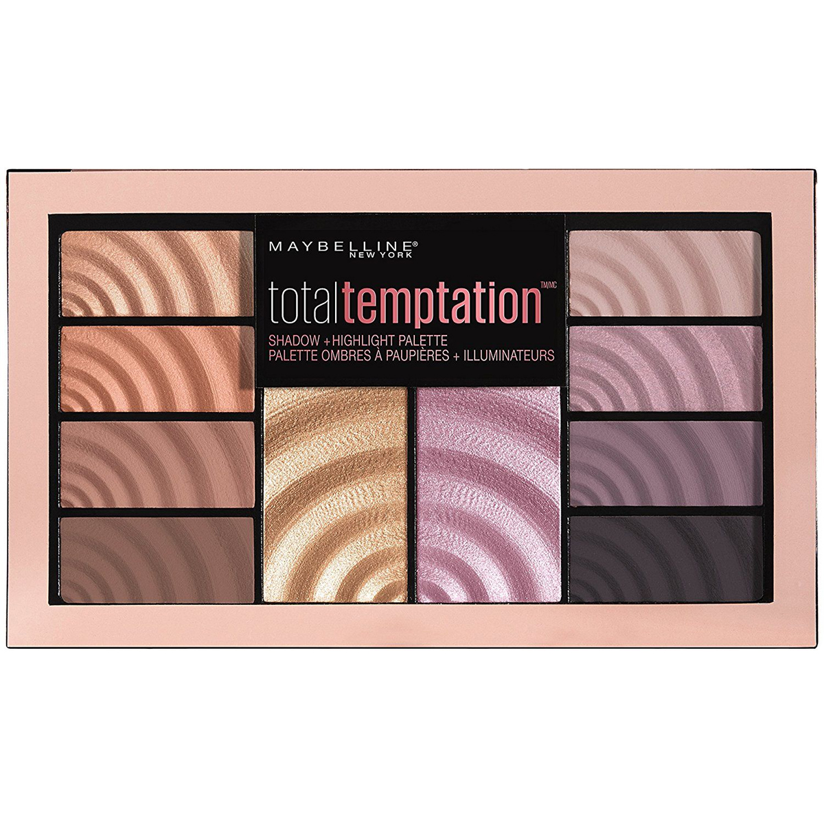 Maybelline Total Temptation Far ve Aydınlatıcı Palet Eyeshadow Highlight Palette