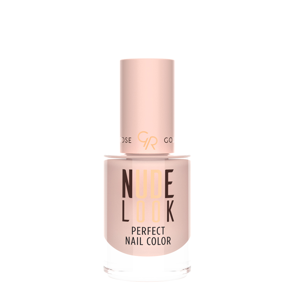 Golden Rose Nude Look Perfect Nail Color Oje 01 Powder Nude