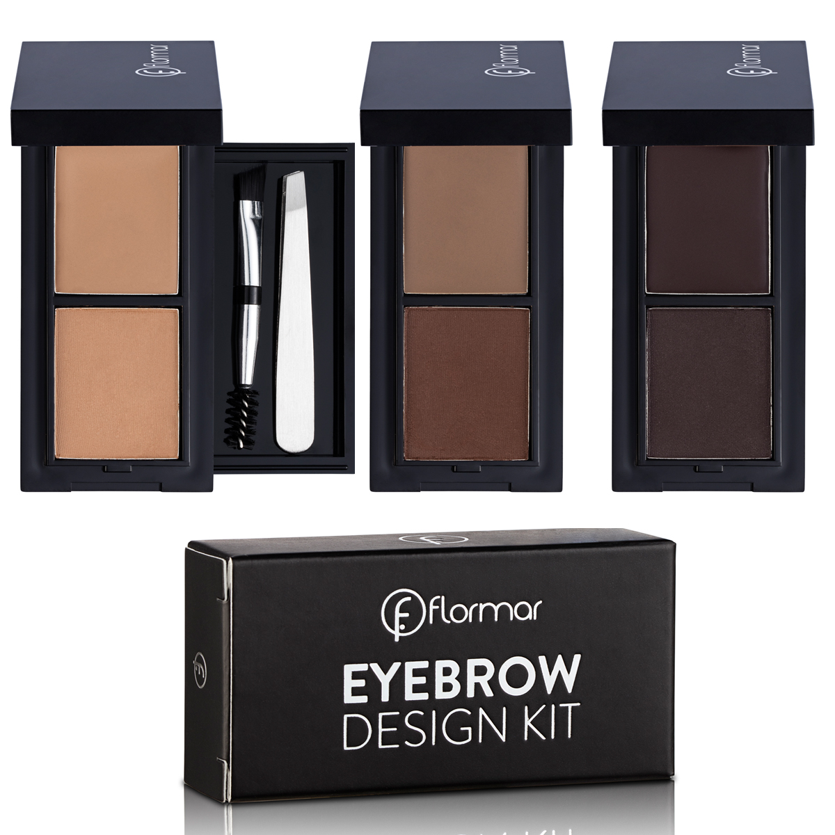 Flormar Kaş Farı Eyebrow Design Kit