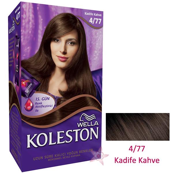 Wella Koleston Saç Boyası Seti 477 Kadife Kahve Kozmetikcim
