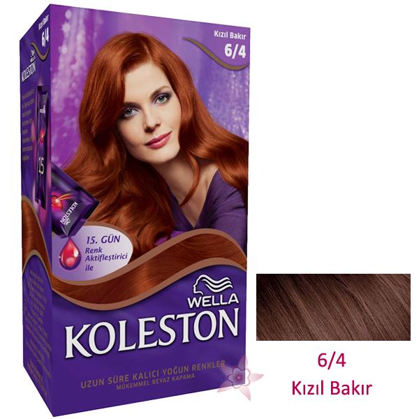 Wella Koleston Saç Boyası Seti 64 Kızıl Bakır Kozmetikcim