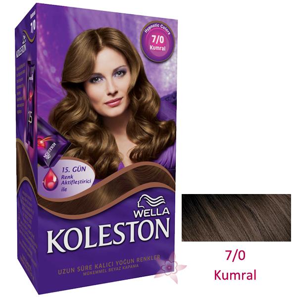 Wella Koleston Saç Boyası Seti 70 Kumral Kozmetikcim