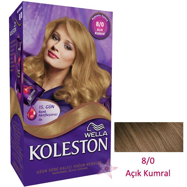 Wella Koleston Saç Boyası Seti 80 Açık Kumral Kozmetikcim