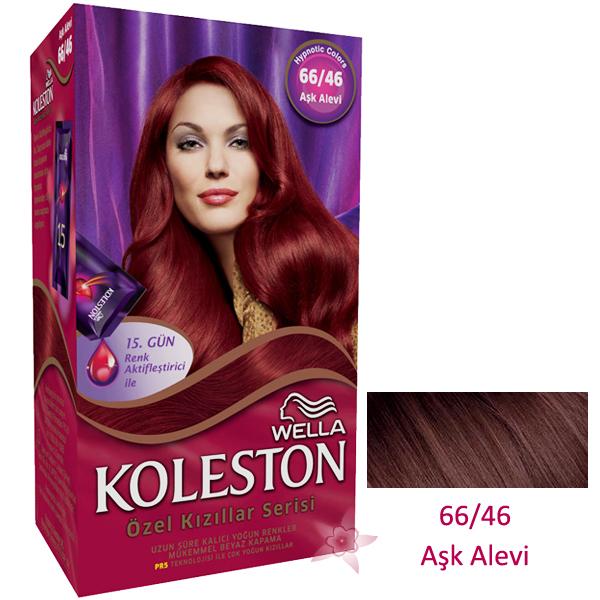 Wella Koleston Saç Boyası Seti 6646 Aşk Alevi Kozmetikcim